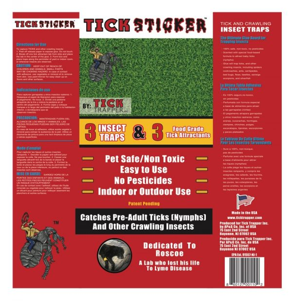 Tick Sticker Product Label